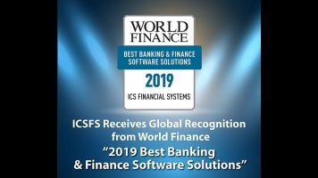 ICS Financial Systems named winner of Best Banking & Financial Software Solutions Award 2019 by World Finance