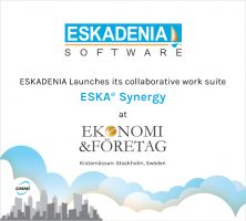 ESKADENIA Software launches ESKA® Synergy at Kistamässan – Ekonomi & Företag 2019, Stockholm