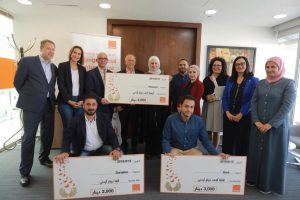 Orange Jordan announces the winners in the third edition of the local Social Venture Prize