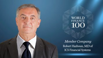 ICSFS' Managing Director, Robert Hazboun, Acknowledged for his Business Leadership and Exceptional Vision by World Finance