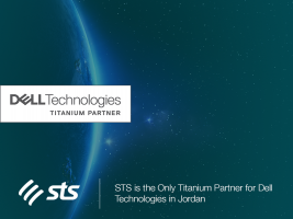 """STS is the Only Titanium Partner for """"Dell Technologies"""" in Jordan """